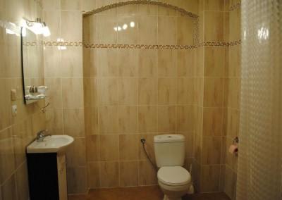 Łazienka do pokoju Kazika