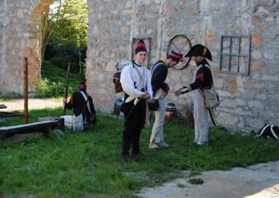 grupa rekonstrukcyjna Bitwy Napoleońskiej