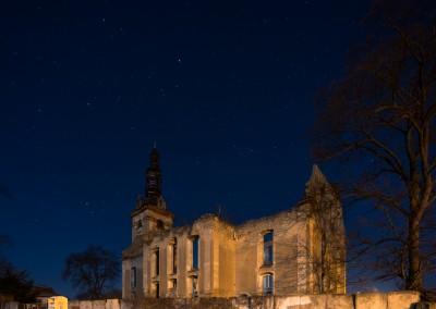 Ruiny kościoła ewangelickiego-Pogórze Kaczawskie