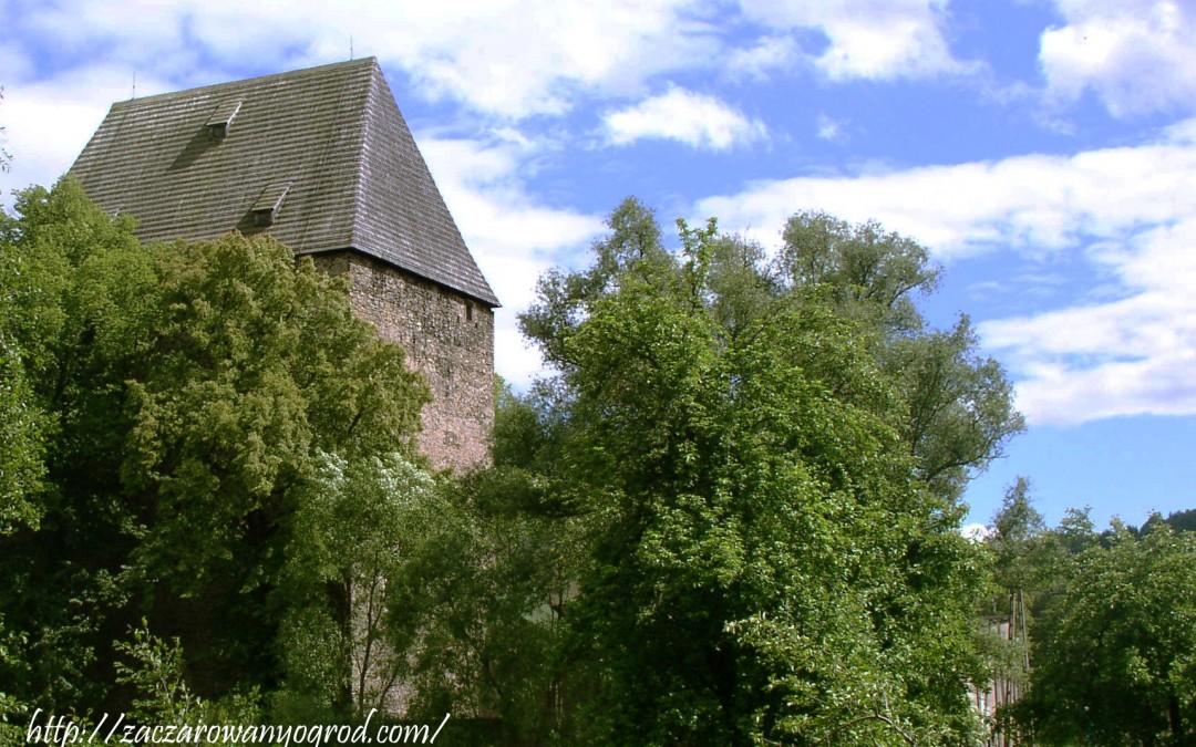 Wieża Książęca (Rycerska) w Siedlęcinie- Dolina Bobru
