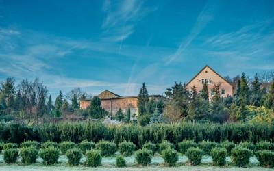 Ogród i budynek