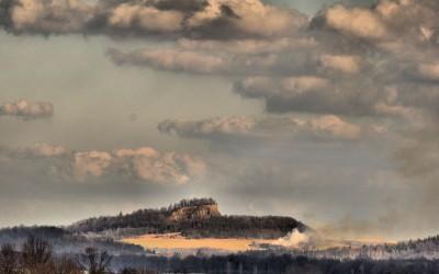 Wilcza Góra-wygasły wulkan-Góry i Pogórze Kaczawskie