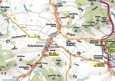 Trasy w pobliżu Sokołowska