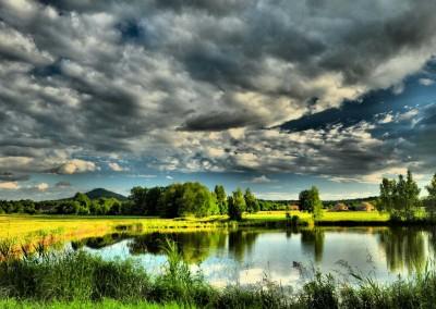 staw na Zielonkach okolica Ostrzycy